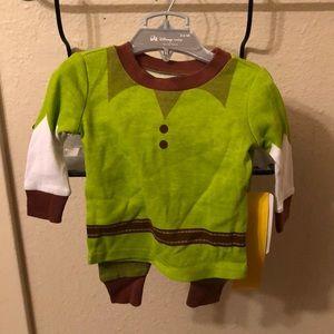 Shrek pajamas